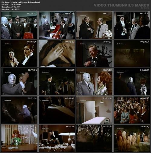Santo en El tesoro de Dracula (1969) screencaps
