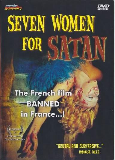 Seven Women for Satan (1976) cover