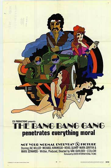 The Bang Bang Gang (1970) cover