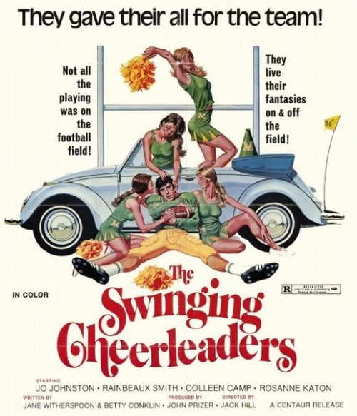 The Swinging Cheerleaders (Better Quality) (1974) cover