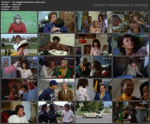 The Swinging Cheerleaders (Better Quality) (1974) screencaps