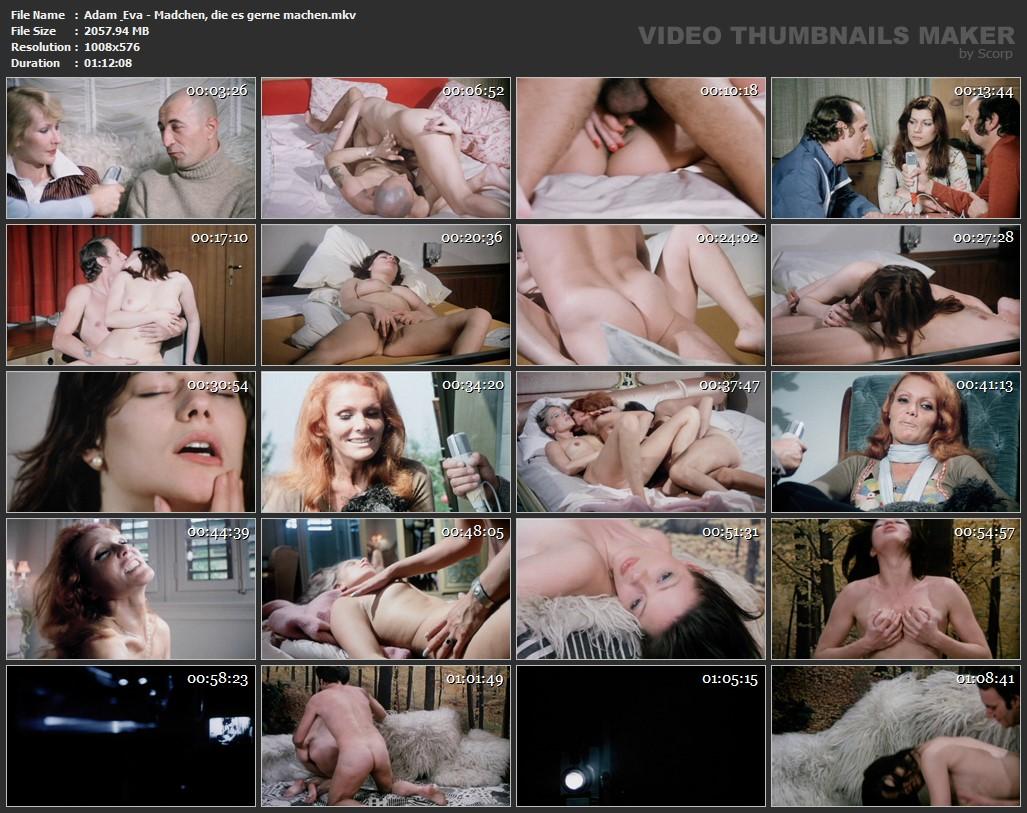 Adam & Eva Mädchen Porn adam & eva - madchen, die es gerne machen (1976)