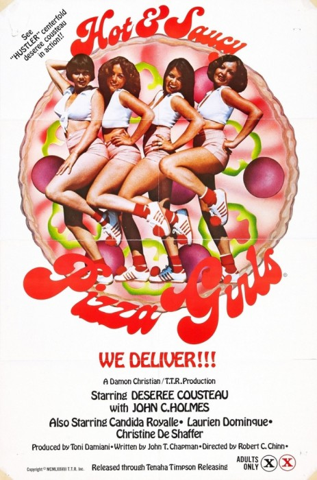 Hot & Saucy Pizza Girls (1979) cover