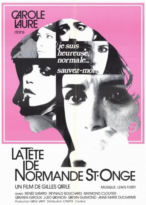 La tete de Normande St-Onge (1975) cover