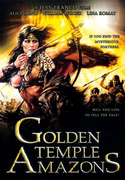 Les amazones du temple dor (1986) cover