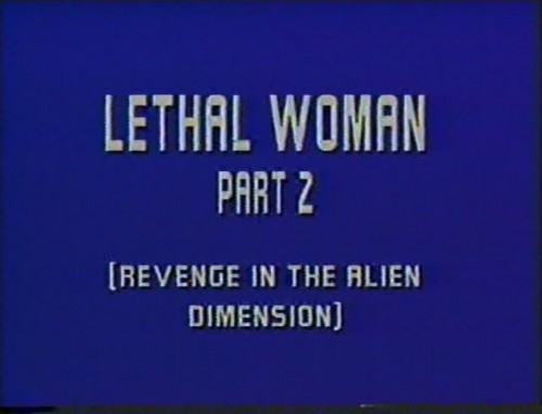 Lethal Woman 2 (1988) cover