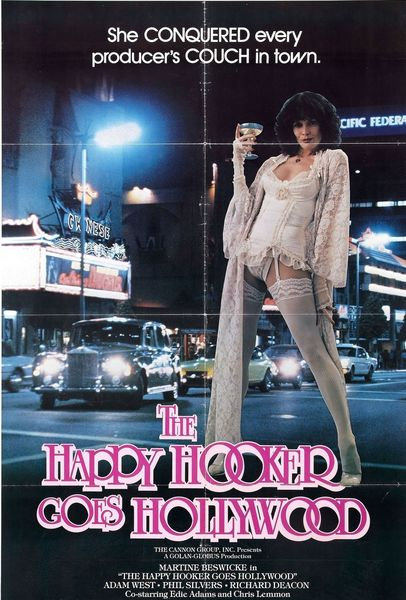 The Happy Hooker Goes Hollywood (1980) cover