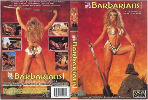 The New Barbarians 1 (1990) cover