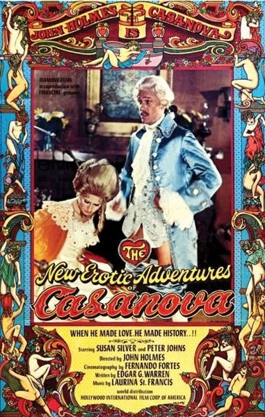 The New Erotic Adventures of Casanova (1977) cover