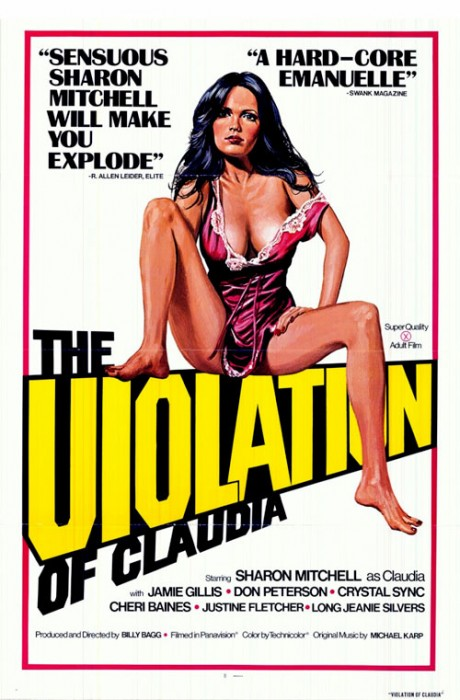 The Violation of Claudia (1977) cover