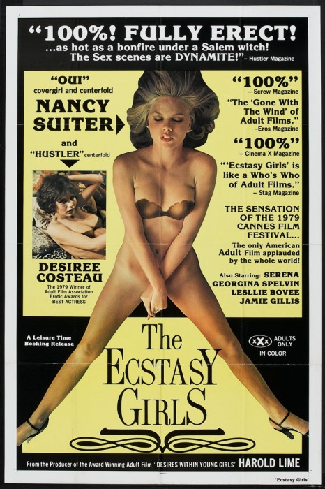 The ecstasy girls (1979) cover