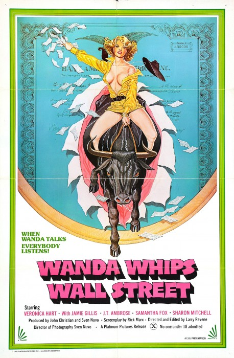 Wanda Whips Wall Street (1981) cover