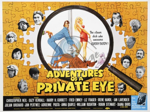 Adventures of a Private Eye (1977) cover