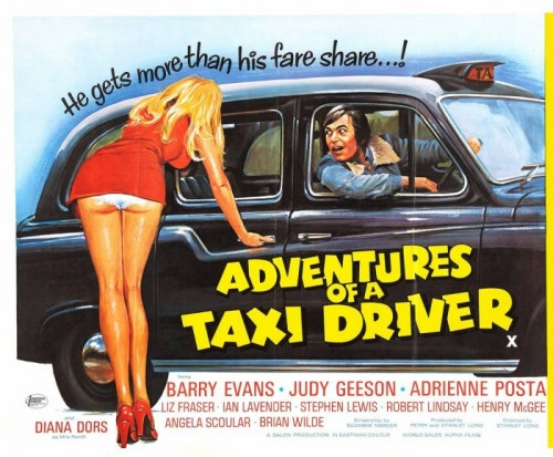 Adventures of a Taxi Driver (1976) cover