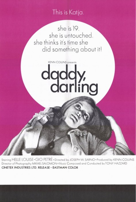 Daddy, Darling (1970) cover