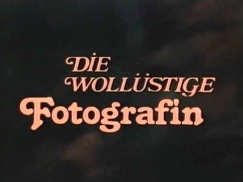 Die wollustige Fotografin (1980) cover