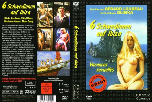 Six Swedish Girls on Ibiza (Better Quality) (1981) cover