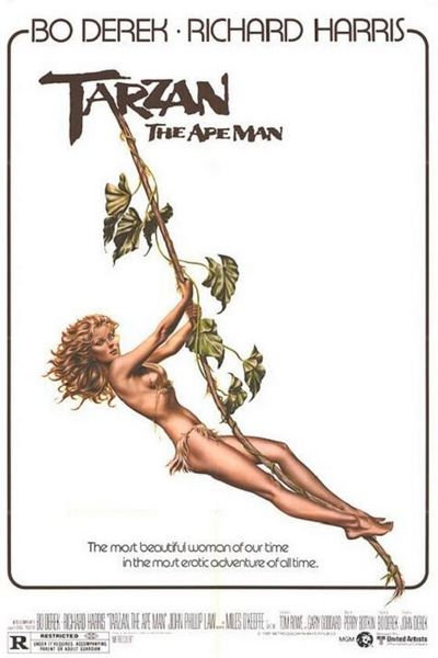 Tarzan, the Ape Man (1981) cover