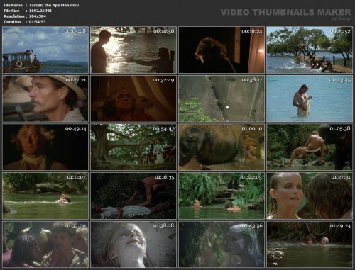 Tarzan, the Ape Man (1981) screencaps