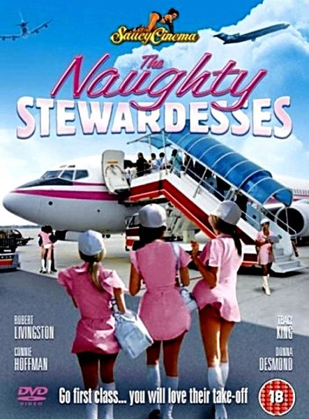 The Naughty Stewardesses (1975) cover