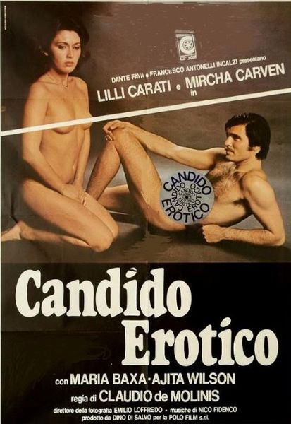 Candido erotico (Better Quality) (1978) cover