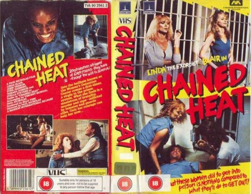Chained Heat (1983) cover