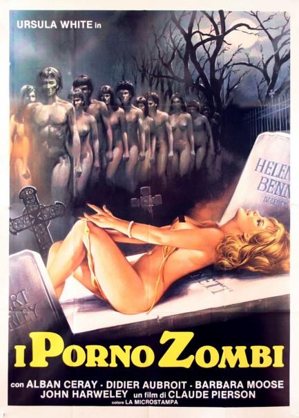 Porno Zombies (1977) cover