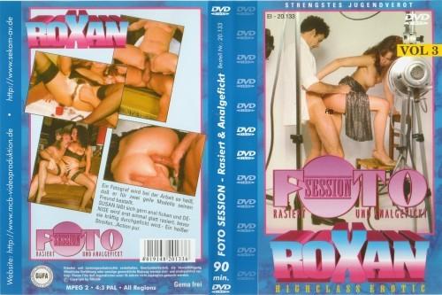 Roxan 3: Foto Session - Rasiert und Anal gefickt! (1988) cover