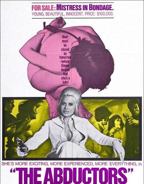 The Abductors (1972) cover