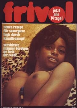 frivol 01 (Magazine) cover