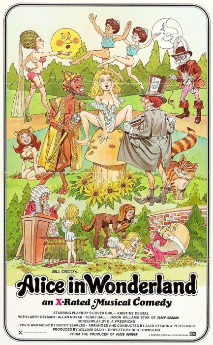 Alice in Wonderland: An X-Rated Musical Fantasy (1976) cover