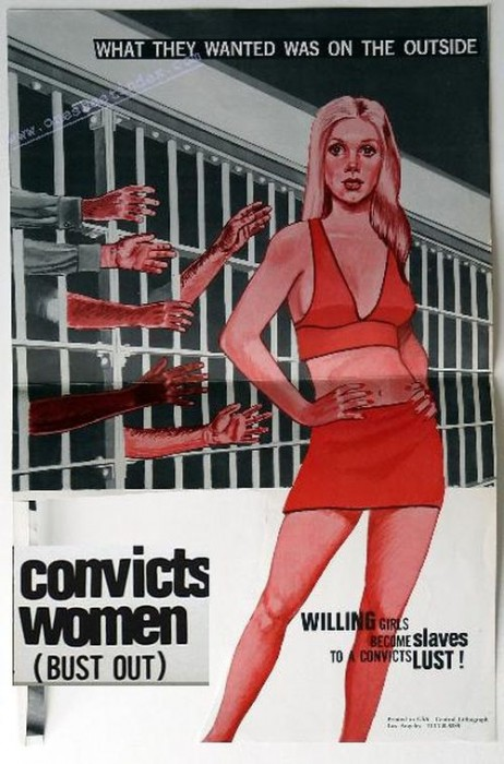 Convicts Women (1973) cover