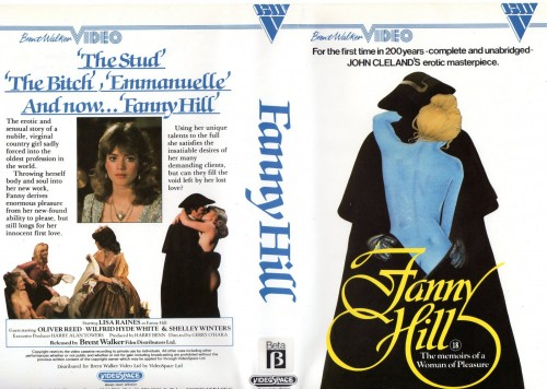 Fanny Hill (1983) cover