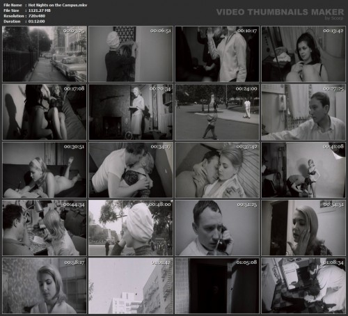 Hot Nights on the Campus (1966) screencaps