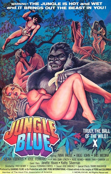 Jungle Blue (1978) cover