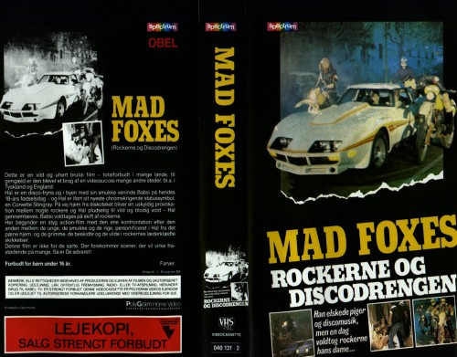 Mad Foxes (1981) cover