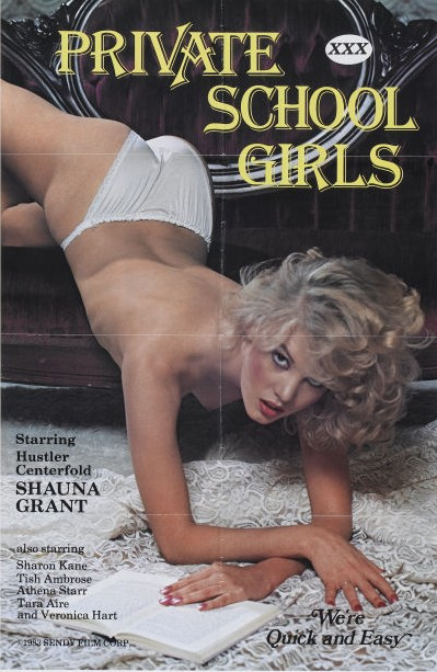 Private Schoolgirls (1983) cover