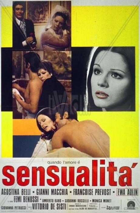 Quando lamore e sensualita (1973) cover