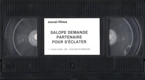 Salope Demande Partenaire Pour Seclater Par Devant Et Par Derriere (1983) cover