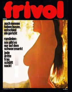 frivol 13 (Magazine) cover