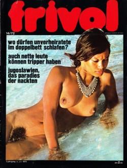 frivol 14 (Magazine) cover