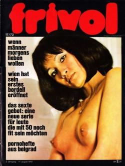 frivol 17 (Magazine) cover