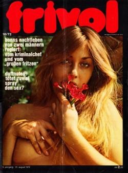 frivol 18 (Magazine) cover
