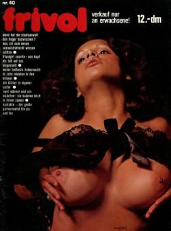 frivol 40 (Magazine) cover