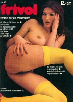 frivol 58 (Magazine) cover
