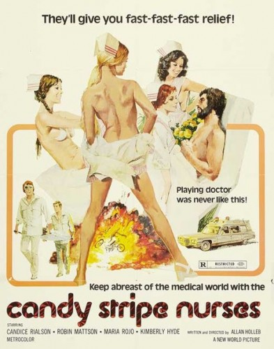 Candy Stripe Nurses (Better Quality) (1974) cover