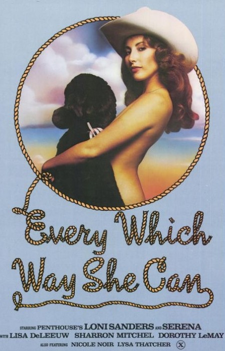 Every Which Way She Can (1981) cover