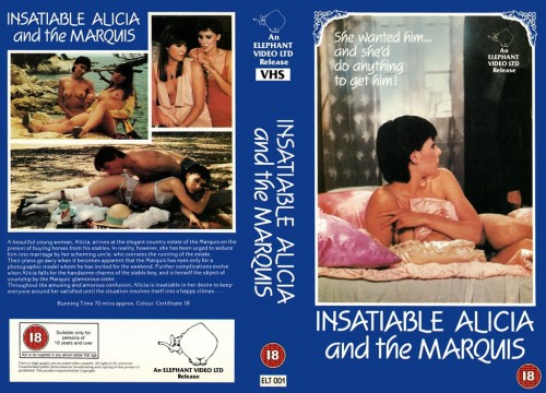 Insatiable Alicia and the Marquis (1983) cover