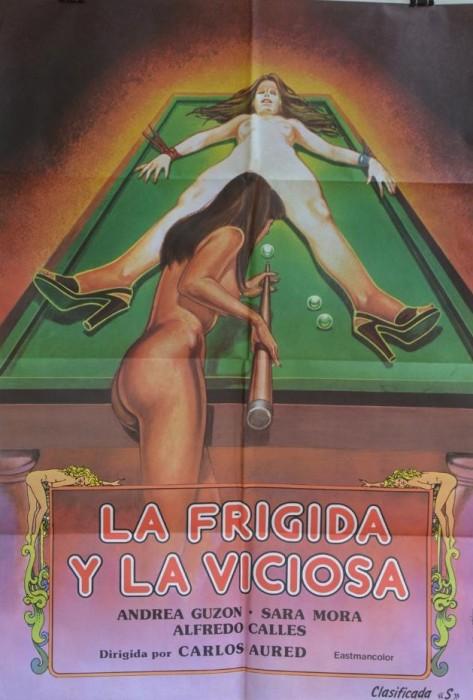 La frigida y la viciosa (1981) cover