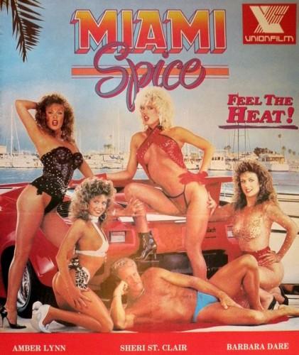 Miami Spice (1986) cover